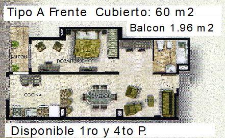 Tipo A 63 m2 con letras ult
