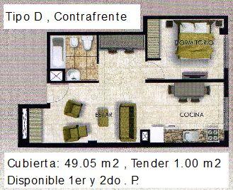 Tipo D 49.05 m2 con letras ult